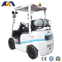CE marked guangzhou forklift with fork sleeves