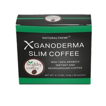 Weight Loss Slimming Ganoderma Lucidum Black Coffee with L-carnitine