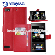 flip wallet leather case for huawei ascend g7 2016 new products