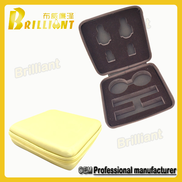 High protective protable eva foam packaging case for auto lamp