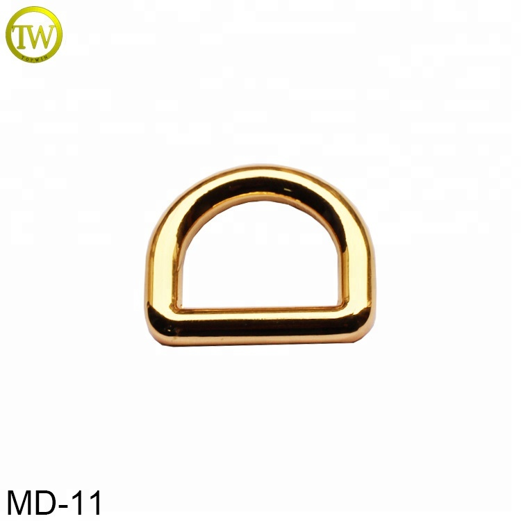 Topwin factory custom <strong>d</strong> ring metal handbags adjustable buckle