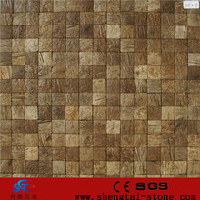 coconut shell mosaic tiles , spanish stainless steel mosaic tiles