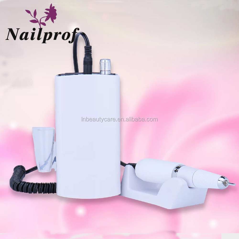 Nailprof. 2017 Rechargeable nail drill 801 & portable electric files & mini grinding machine