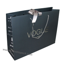 Luxury famous brand paper bag