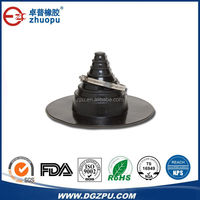injection molded custom rubber components