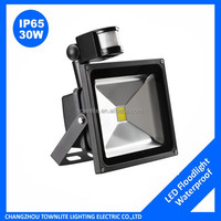 30w Daylight White Waterproof 2400lm PIR Motion Sensor LED FloodLight