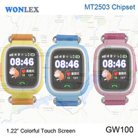 2016 Newest Factory Sale 12 Inch Touch Screen SOS IWonlex Setracker Running Kids GPS Digital Multimedia Mobile Watch
