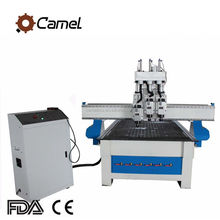 CAMEL Professional 1325 Three Pneumatic Spindle Multifunction Combination CNC Woodworking Router Machines