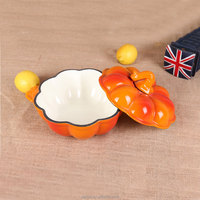 2015 Canton Fair new product iron pumpkin soup pot