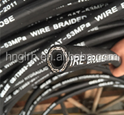 GELEE BRAND SAE100 R2 Wire Braid High Pressure Flexible Oil Hydraulic Rubber Hose