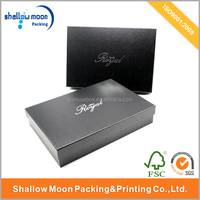 New design luxury clothing packaging box