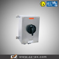 IECEx & ATEX Certified Stainless Steel Explosion Proof Isolation Switch