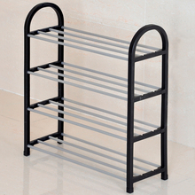 cheap amazing outdoor waterproof portable storage easy to assemble metal plastic 3-tier utility shoe rack cabinet