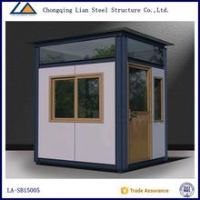 Well- designed Prefabricated Outdoor Kiosk Booth