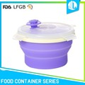 Great material cheap silicone baby food storage containers