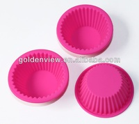 Baking tool small round shaped silicone mini cupcakes cake muffin pudding jelly baking cups pan mold mould