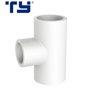 Plastic PVC Rubber pipe Reducer Tee Joints