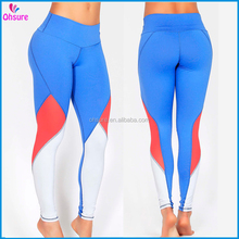 4way stretch high quality womens yoga pants gym tight sports wear nylon running leggings