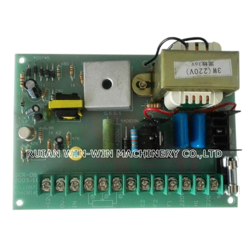 SCR-08 and SCR-08 G type dc motor electrical control panel