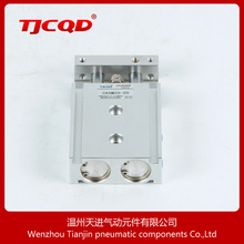 Factory directly supply CXSM20-20 double rod pneumatic door cylinder