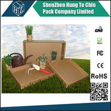 Shenzhen factory produce 3 ply/ 5 ply cardboard corrugated cardboard plant trays