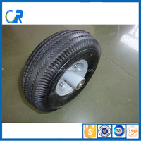 Qingdao factory new model 10 inch strong steel wheel