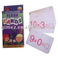kids educational playing cards , flash playing cards item
