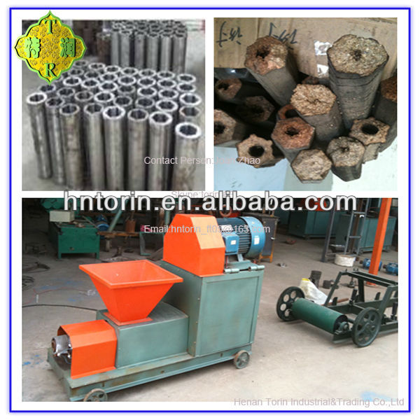 Energy Saving Coconut Shell Charcoal Making Machine,BBQ Charcoal Briquette Making Machine