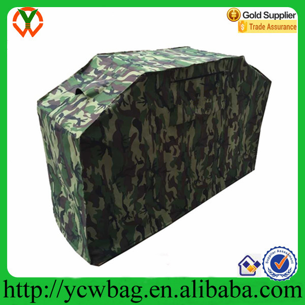 Customize waterproof outdoor camouflage colorful bbq grill cover