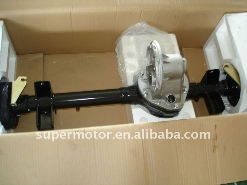 rear transaxle and electric motor 4kw for golf cart