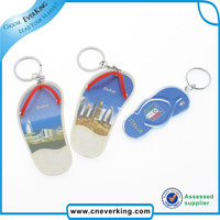 Custom manufacture promotional plastic /metal heart key chain