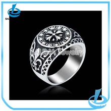 High quality fashion gun metal cheap o-rings