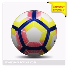 High Quality pu laminated wholesale colorful inflatable football