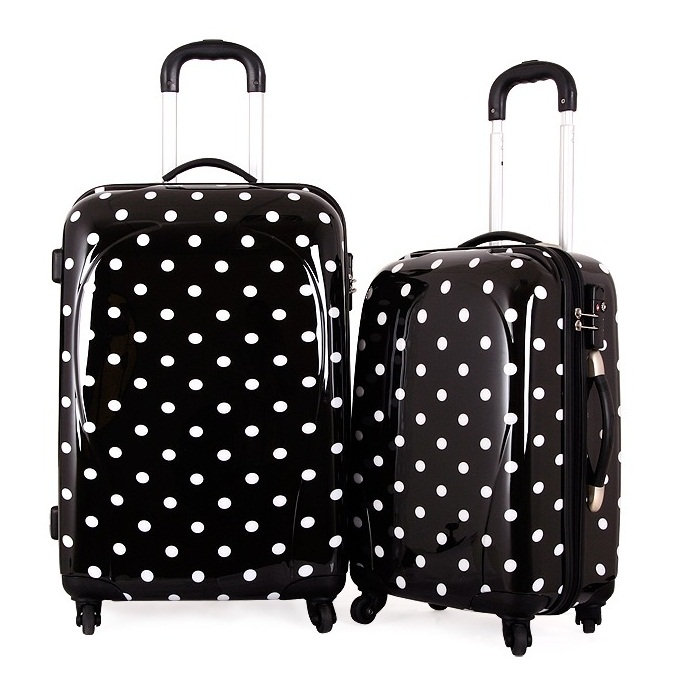 2014 lightweight luggage 3 piece set suitcases for traveling