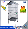 Large iron bird cage house with wheels