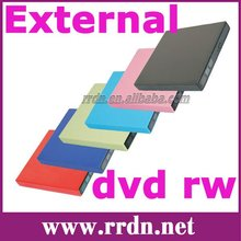 New Slim drive case DVD RW external usb dvd writer