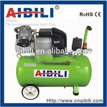 DIRECT -DRIVEN DOUBLE CYLIDER PORTABLE PISTON AIR COMPRESSOR