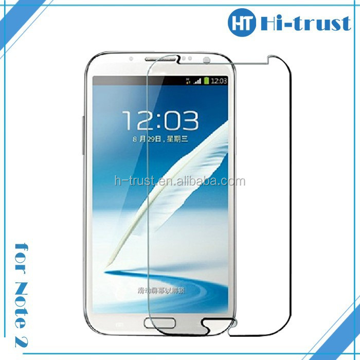 Hot! Front and Back Full Body Protective Film Guard cheapest high definition Screen Protector for Samsung note2