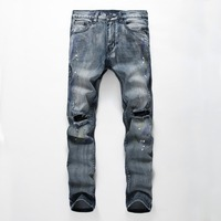 2016 new style fashion buy jeans in bulk robin jeans for men