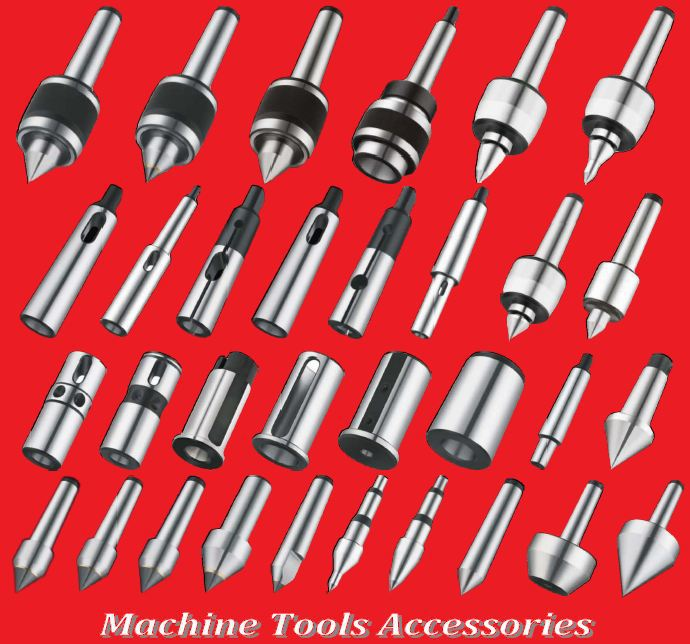 REVOLVING CENTER AND OTHER TOOL ACCESSORIES