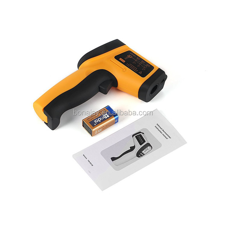 Non-Contact Wide Range IR Gun Thermometer GM700