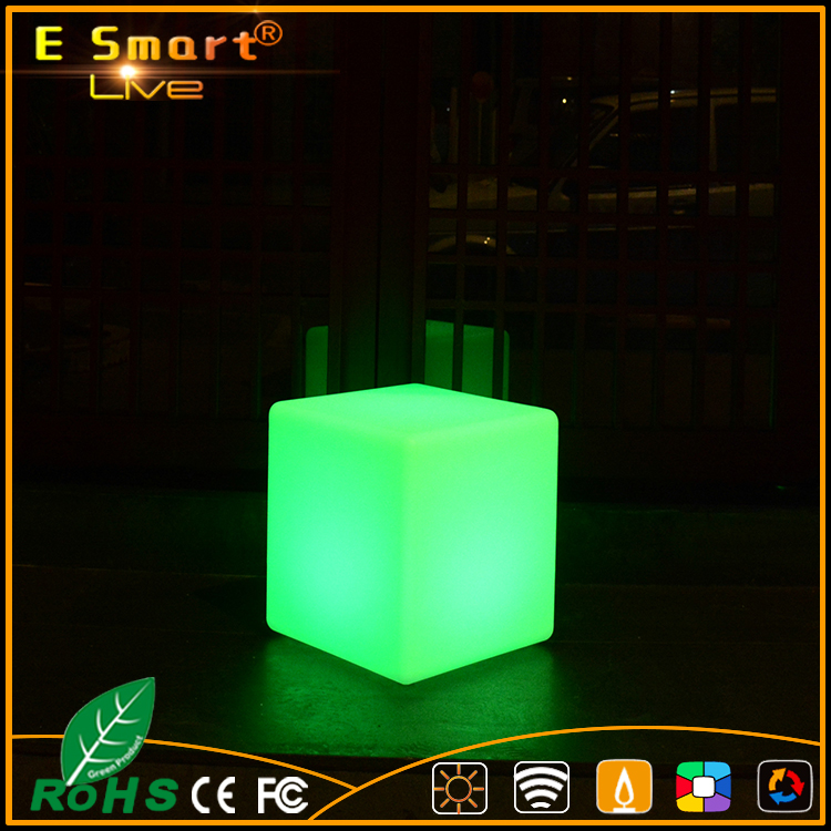 New hot selling color changing RGB led cube, Wedding Event Party LED Cube Chair