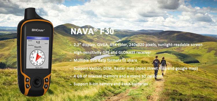 High Quality Surveying Equipment GPS NAVA F30 Hand-Held GPS Receiver