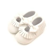 Factory wholesale infant moccasin baby moccasins