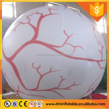 Advertising inflatable stand balloon led lighted tripod ball with logo printing