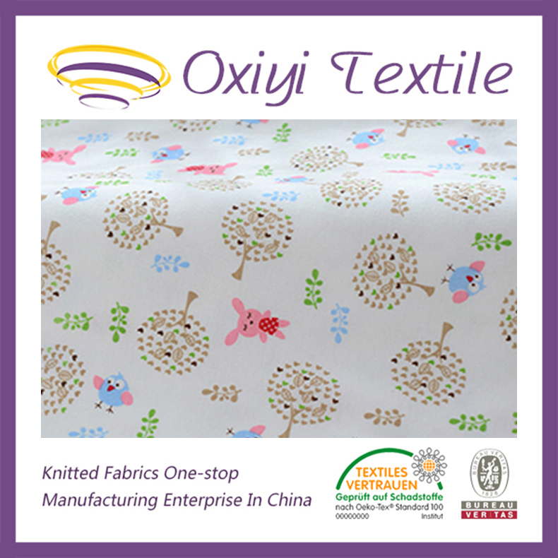 100% Organic Fabric Cotton Single Jersey Price for Garment,T-shirts,etc