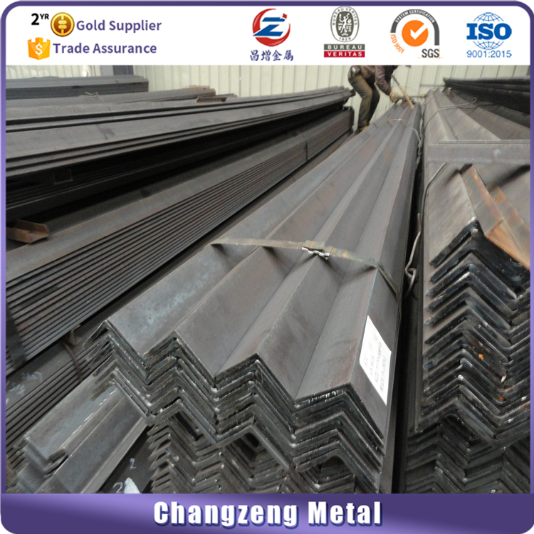 steel angle iron weights/unequal angle steel/steel angle with holes China manufacturer