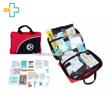 First Aid Kit for Car, Travel, Home, Office, Sports, Survival | Complete Emergency Bag fully stocked with high quality medical