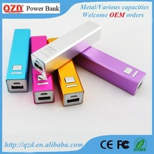 OEM brand best portable mobile power bank charger 2600mah