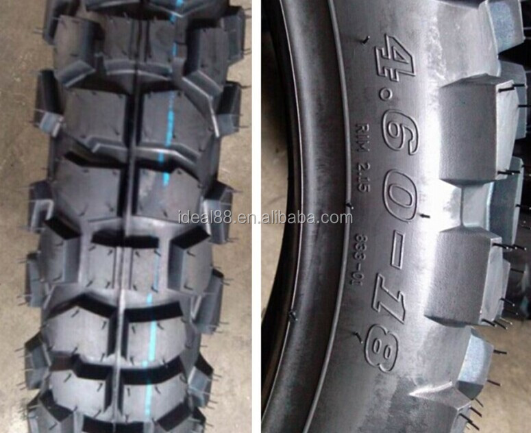 motorcycle tire 4.60-18 hot sale for South America market (own factory)